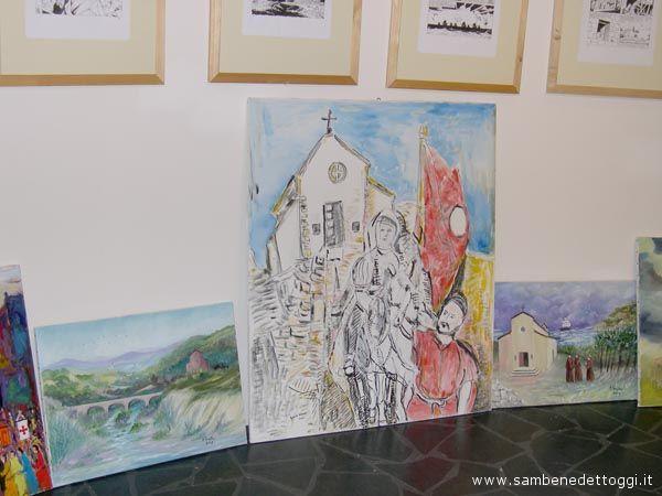 Le opere degli undici pittori della Sacra 2007