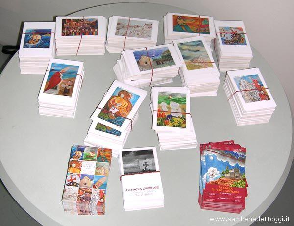 Le cartoline dei pittori della Sacra