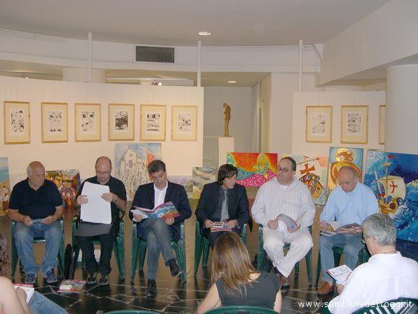 Antonio Casilio, Dino Cappelletti, Sindaco Luigi Merli, Assessore Enrico Piergallini, Michele Rossi, Angelo Maria Ricci