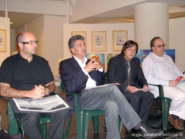Dino Cappelletti, Luigi Merli, Enrico Piergallini, Michele Rossi
