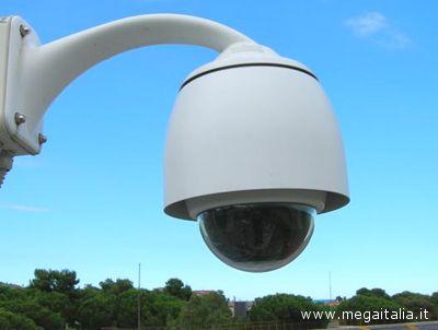 Una postazione di ripresa di un sistema di sorveglianza