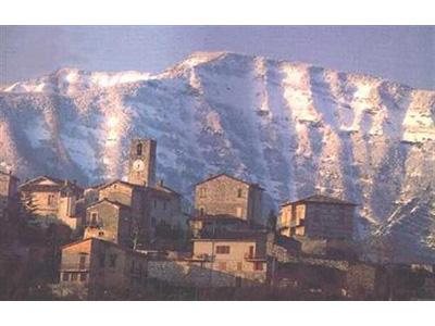 Una veduta di Acquasanta Terme