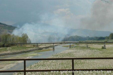 2.Incendio ad Ancarano