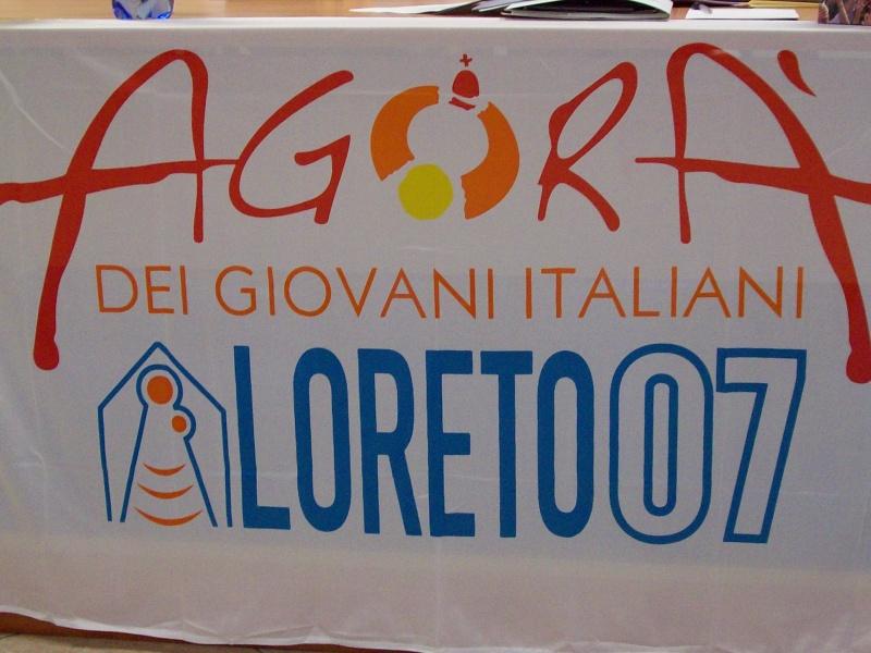 Il logo dell'Agorà dei Giovani 2007