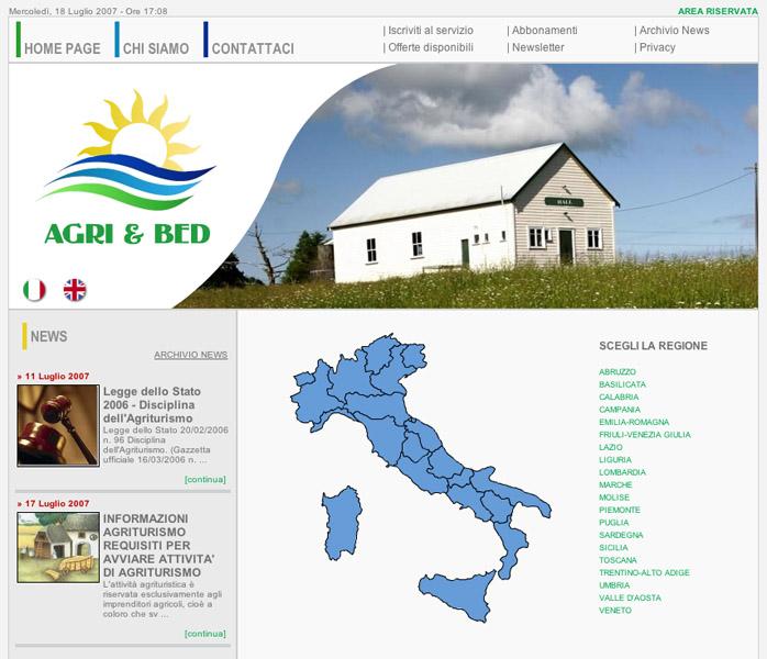 Nasce a San Benedetto il portale degli agriturismi e bed & breakfast italiani