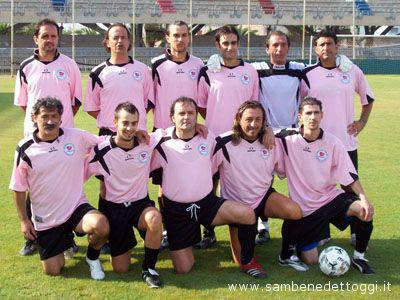 La formazione dell'Arca 93, vincitrice dell'edizione 2007 del Torneo Interforze