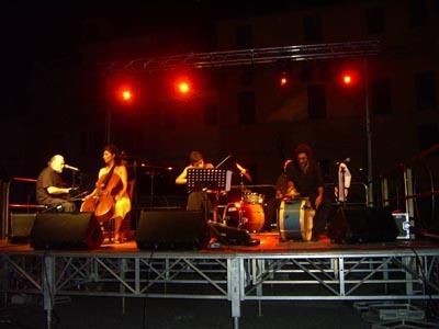 Juan Carlos Càceres Quintet a Piazza Piacentini