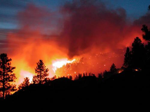 Nuovo incendio a Rotella