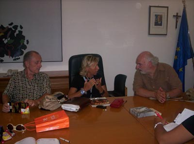 Paolo De Bernardin, Margherita Sorge e Gino Troli