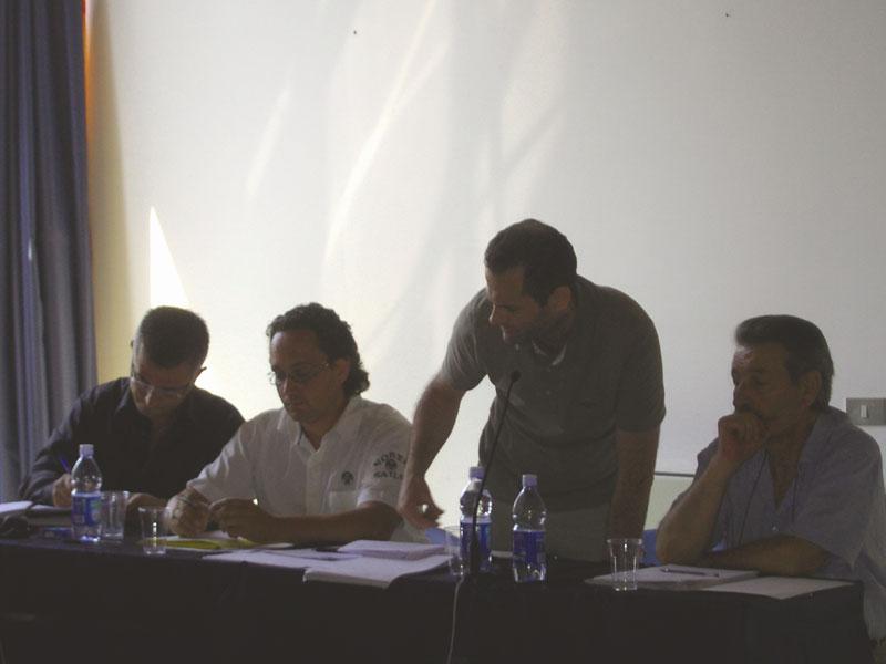Paolo Camaioni, Andrea D'ambrosio, Alduino Tommolini, di Città Attiva; Ignazio Caputi di