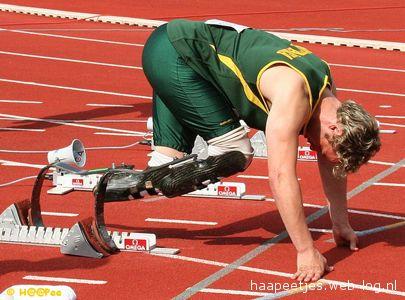 Anche il campione paraplegico Oscar Pistorius parteciperà al Golden Gala di Atletica Leggera di Roma