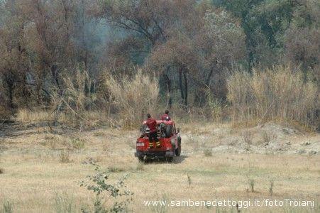 4.Incendio ad Ancarano