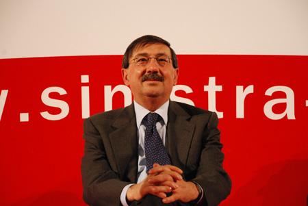 Il ministro Mussi, uno dei punti di riferimento di Sinistra Democratica