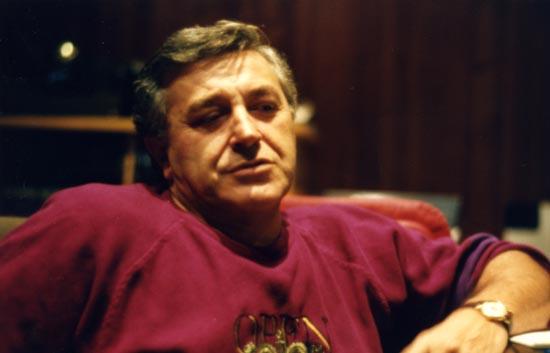 Il cantautore Pierangelo Bertoli