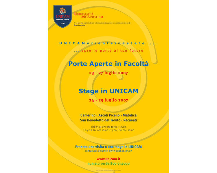 Porte Aperte all'Unicam di San Benedetto