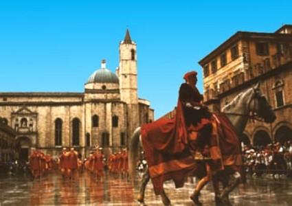La Quintana e Piazza del Popolo