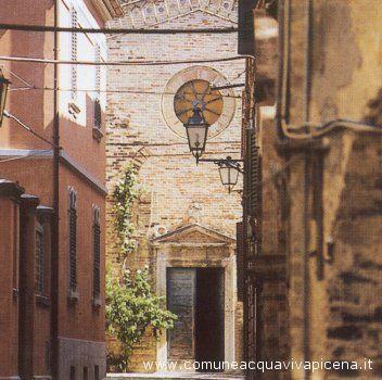 Un incantevole scorcio della chiesa San Rocco