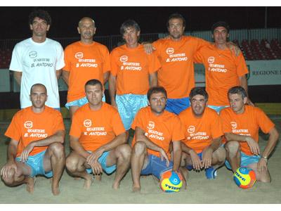 Trofeo dei Quartieri: la squadra di Sant'Antonio
