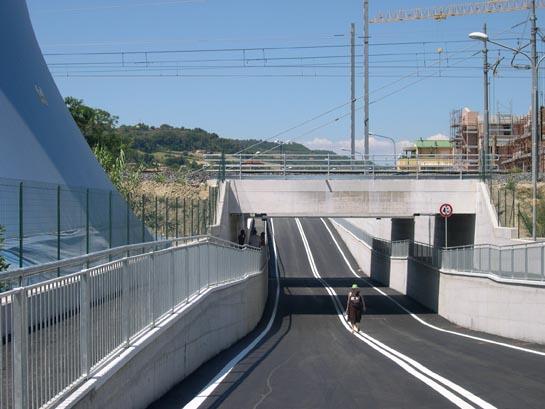 Il nuovo Sottopasso ferroviario di via Pertini