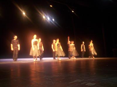 I ballerini agli applausi finali