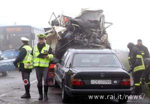 Aumentano gli incidenti stradali nelle Marche