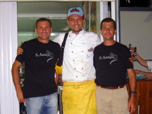 Marco Spinosi con Matteo Troiani e Patrizio Del Prete