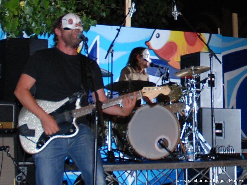 Tre Allegri Ragazzi Morti: uno dei momenti di maggior successo di Maremoto Festival 2008