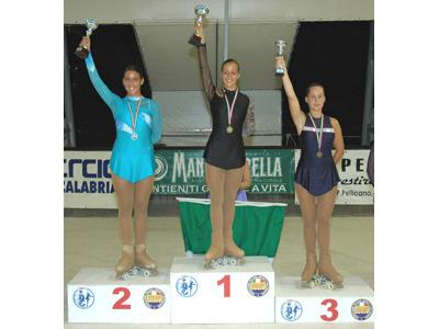 Martina Angelici sul podio più alto ai Campionati Italiani di Reggio Calabria