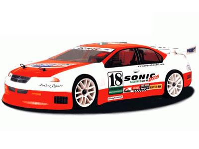 Un modellino di auto a scoppio (foto tratta dal sito www.ghergoservice.it)