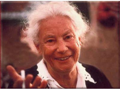 La scrittrice Joyce Lussu