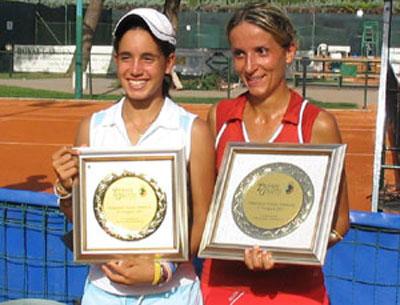 Da sinistra Chiara Mossi e Marilena Romitelli