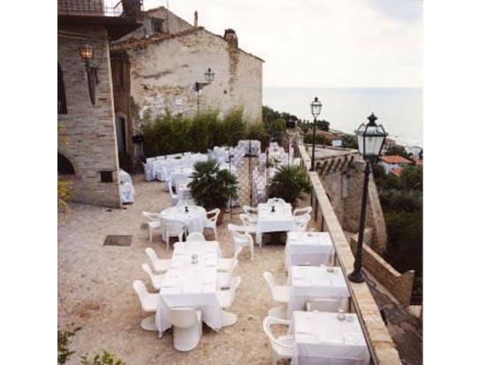 La terrazza del Borgo Antico