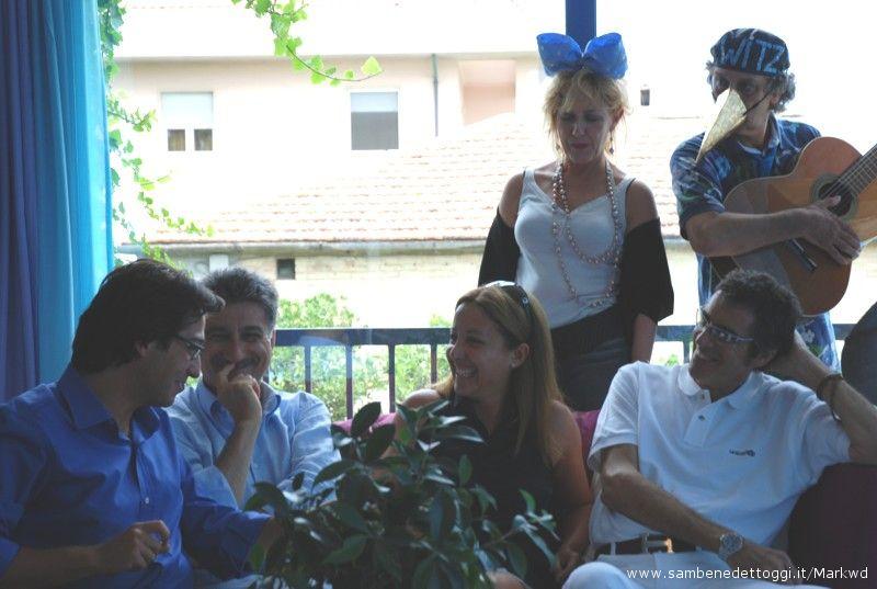 Enrico Piergallini, Luigi Merli, Carla Signoris, Pepi Morgia (foto del 2007)