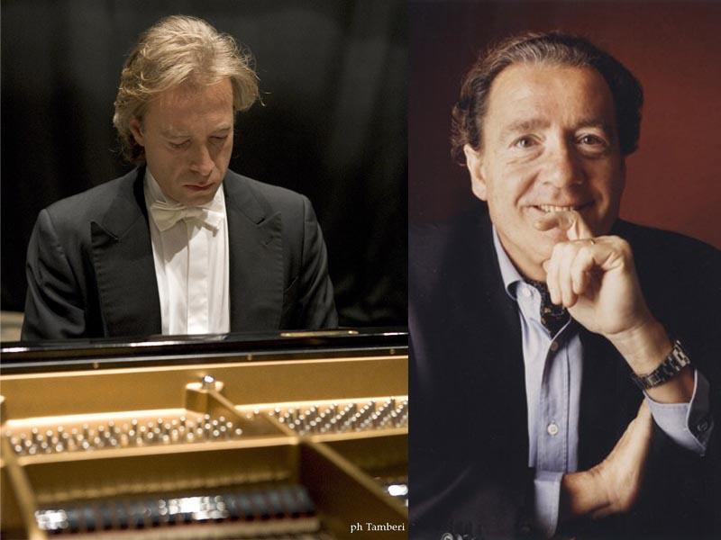 I musicisti Paolo Restani e Francois Joel Thiollier che, rispettivamente, apriranno e chiuderanno il festival Liszt 2007