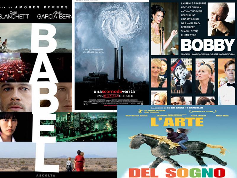Alcune delle locandine dei film che verranno proiettati nel corso della rassegna