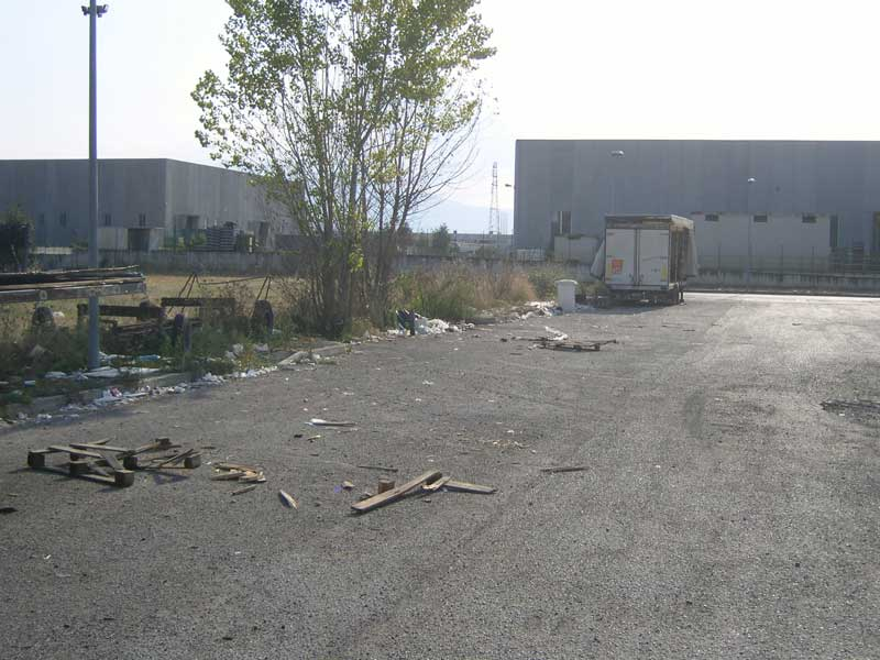 Ancora rifiuti abbandonati lungo una strada