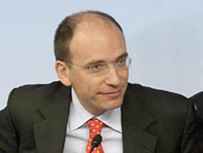 Enrico Letta (foto tratta dal sito www.rainews24.rai.it)