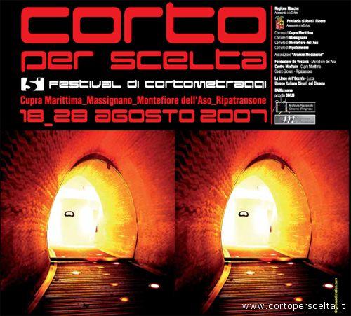 Il manifesto della V edizione di Corto per Scelta 2007
