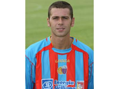 L'attaccante del Catania Mirko Antenucci (foto tratta dal sito www.calciocatania.net)