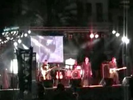 Gli Achtung Babies, band tribute band degli U2