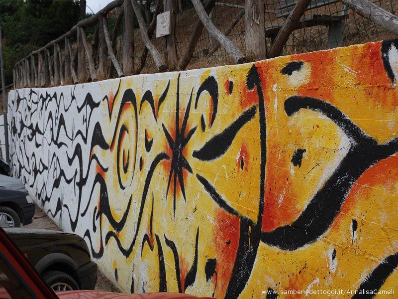 Terminato il murales di Carlo Gentili,
