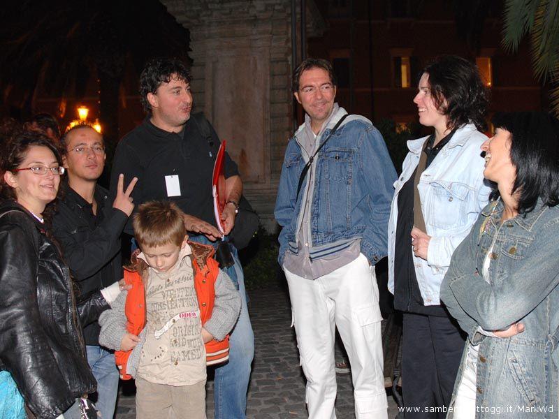 Alcuni membri del meet-up di San Benedetto del Tronto con il fondatore del meet-up di Ascoli Piceno, Domenico Gennari (il terzo da sinistra)