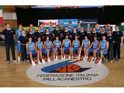 La Nazionale di basket femminile (foto www.fip.it)