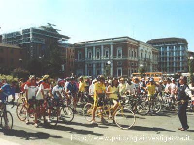 Frequenti le pedalate in tandem organizzate dall'Unione Italiana Ciechi in tutta Italia