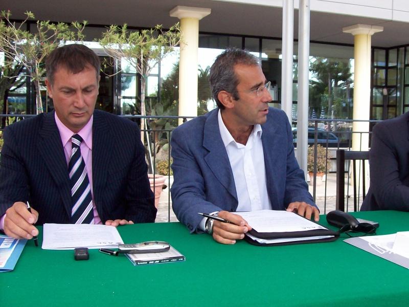 Marco Calvaresi e Marco Bracciani