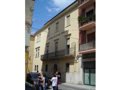 L'ex caserma Luciano Nardone di via Pizzi