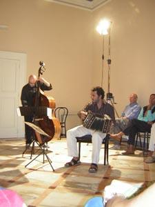 Daniele di Bonaventura e Gabriele Pesaresi a Villa Vinci