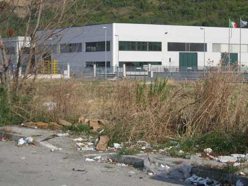 Aree verdi incolte e riufiuti ovunque: ecco come si presenta la zona industriale di Vallecupa di Colonnella