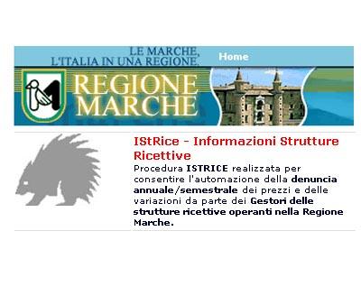Istrice, procedura automatizzata per la denuncia annuale/semestrale dei prezzi dei Gestori delle strutture ricettive operanti nella Regione Marche