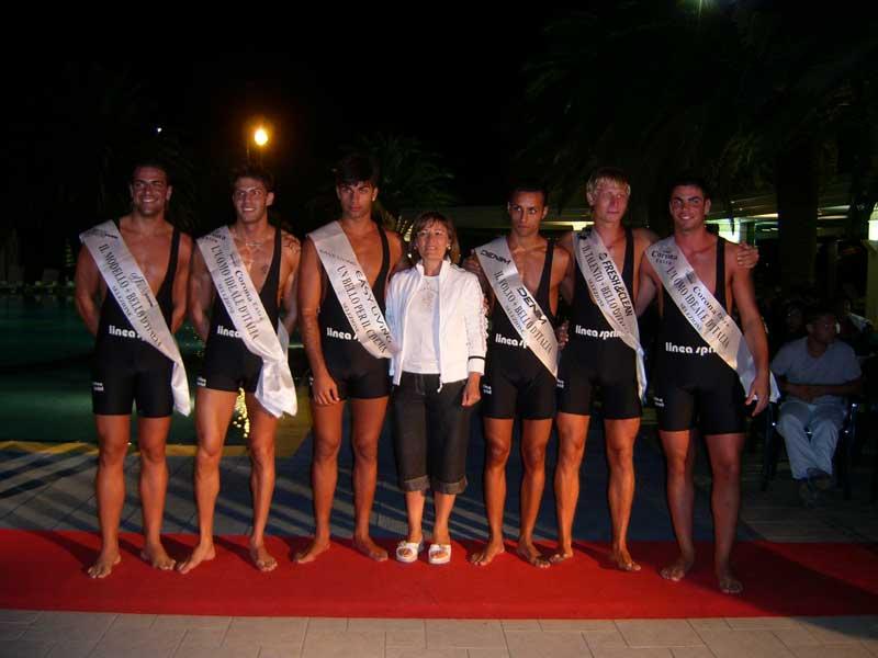I sei vincitori che andranno in semifinale, insieme a Adriana Patella, titolare del Park Hotel